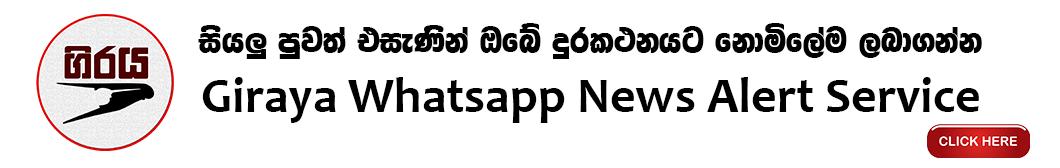 Giraya News Alerts